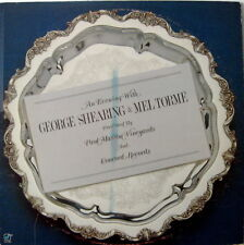 An Evening With George Shearing & Mel Torme LP Concord # 190 Record Excellent