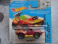 Voitures, camions et fourgons miniatures rouge Hot Wheels acier embouti