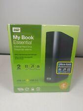 NEW - WD Western Digital MY BOOK ESSENTIAL (2 TB) External Hard Drive (USB 3.0)