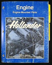 1990 Hollander Interchange Engine Manual 56th Ed. Auto Truck Foreign Domestic