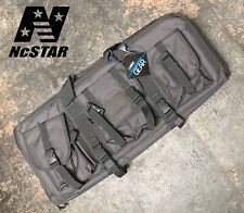 NcSTAR VISM 28 Inch Double Pistol Subgun Padded Soft Gun Case Carry Bag GRAY