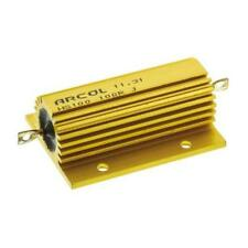 1 x Arcol Aluminium Wire Wound Resistor HS100 100R J, 100Ω ±5% 100W