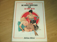 LIZ UND BETH - EROTISCHE COMICS FUER ERWACHSENE - EDITION BIKINI 1988 - TOP
