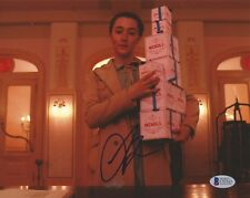 SAOIRSE RONAN AUTOGRAPHED SIGNED THE GRAND BUDAPEST HOTEL BAS 8X10 PHOTO