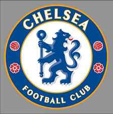 "Chelsea FC Logo 6"" Vinyl Decal Bumper Window Sticker - Football Soccer"