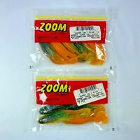 "WATERMELON CRAWFISH ZOOM HORNY TOAD 4-1//4/"" 083-186 5 PKG"