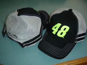 #48 Jimmie Johnson Chkd Flag Sports Vintage Trucker Hat FREE SHIP! IN STK