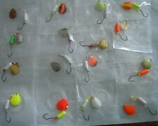 16-Walleye Lure One Hook Floating Spinner Rigs/Crawler/Leech/Minnow /#2 Blades