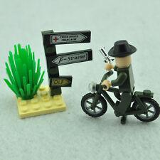 DIY Mini Military Strategist Minifigures Building Blocks Model Construction Toy