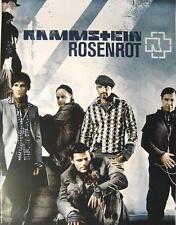 """RAMMSTEIN POSTER """"ROSENROT BAND"""""""