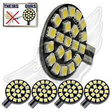 4X T10 T15 921 194 Natural White RV Trailer Interior 12V LED Light Bulbs 21SMD