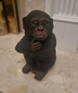 Concrete Monkey (Chimpanzee) - Black