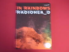 Radiohead - In Rainbows . Songbook Notenbuch Piano Vocal Guitar PVG