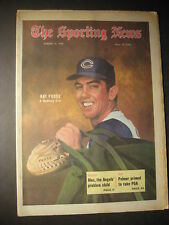 THE SPORTING NEWS - RAY FOSSE, A Budding Star 1970