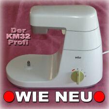 █ BRAUN KM32 🔴 MOTORBLOCK + GETRIEBEARM für Küchenmaschine KM 32 4122 und 4209