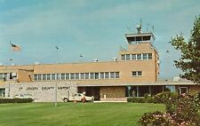 South Bend,Indiana,St.Joseph County Airport,Terminal,c.1950s