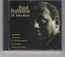 (HK399) Paul Robeson, Ol' Man River - 1997 CD