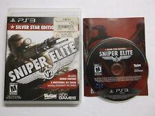 Sniper Elite V2 -- Silver Star Edition (Sony PlayStation 3, 2013) Complete