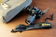 Nikon F301 35mm SLR Film Camera with extras