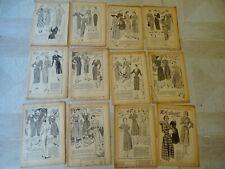 1 EURO PATRONS FEMMES D'AUJOURD'HUI PLUS DE 60 MODELES DE ROBE DE 1949 A 1957