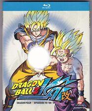 Dragon Ball Z Kai Season Four: Episodes 78-98 (BD, 2013, 4-Disc Set)