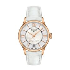 Tissot Analog Business Watch Chemin Des Tourelles White Ladies T0992073611800