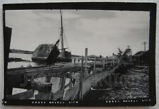 Wiscasset Maine ME Boat Wreck Schooners July 24, 1954 contact photo