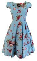 Hearts & Roses Sky Blue Royal Ballet Tea Dress …