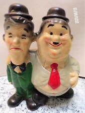 Vintage Rare Laurel and Hardy Planter!