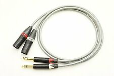New BELDEN 8422 High resolution XLR (male) - TRS pair conversion cable 2m