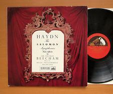 ALP 1694 Haydn The Solomon Symphonies 9 & 10 Beecham 1960 HMV Mono NM/EX