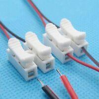 10pcs CH2 Feder-Draht-Verbindungsstück-elektrischer Kabel-Klemmplatten-Anschluss