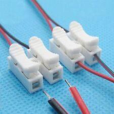 10pc. CH2 Feder Draht Verbindungsstück elektrischer Kabel Klemmplatten Pop