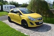 VAUXHALL CORSA D BONNET YELLOW Z40Q 2006 TO 2014 BREAKING WHOLE CAR FREE UK P&P