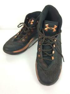 UNDER ARMOUR All Star Weekend 29.5cm 1299665 001 Size US 11.5 Orange Sneakers