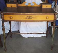 Gorgeous Antique Victorian Vanity Table with Glove Boxes - VGC - Widdicomb Co.