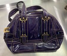 Purple maxx new york bag - animal print inside - great for mini laptop
