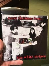 "White Stripes merry christmas from 7"" single black vinyl Third man reissue"