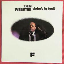BEN WEBSTER   LP ORIG FR  DUKE'S IN BED