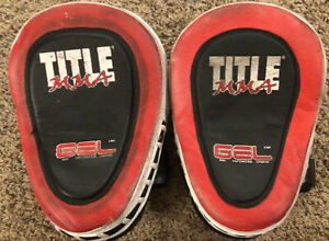 Title MMA GEL Punch Pads