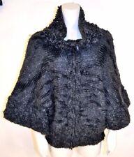 Stella McCartney Chunky Wool Cashmere Bell Sleeve Zip Sweater Coat 38 M 8-10