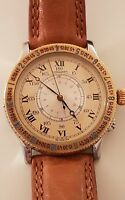 Longines Lindbergh Winkel Stunden angle hour Uhr 9895215 Automatik
