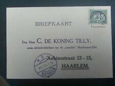 Nederland kleinrond Vinkeveen op briefkaart de Koning Tilly
