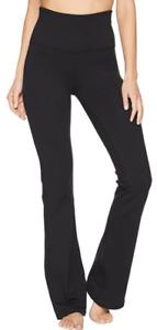 Beyond Yoga 15912 Womens Black High Waisted Practice Pants Size Medium