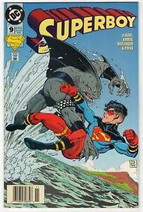 Superboy 9 NM- 9.2 1st King Shark