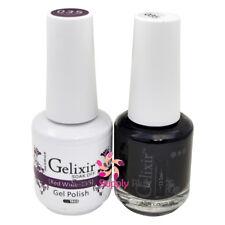 GELIXIR Soak Off Gel Polish Duo Set (Gel + Matching Lacquer) - 035