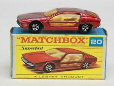 MATCHBOX SUPERFAST MODEL No. 20  LAMBORGHINI MARZAL IN ORIGINAL BOX
