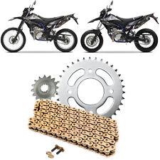 Honda XLR125R rear chain 98-02 428x130 MTX heavy duty GOLD upgrade
