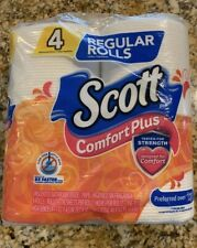 Scott Comfort Plus , 4 Reg Sized Rolls.  116 Sheets Per Roll.