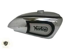 NORTON MANX INTERNATIONAL SILVER PAINTED & CHROME FUEL PETROL TANK |Fit For